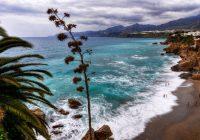 Vaizdinga Malagos pakrantė.